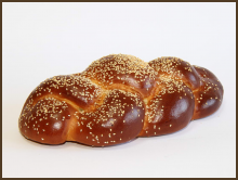 «Kalach» with sesame seeds